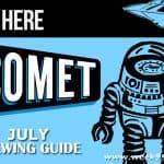 Godzilla has Taken Over Comet TV in July! #CometTV