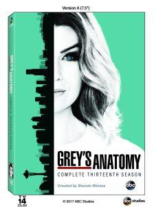 Grey's Anatomy 13th Season DVD Release