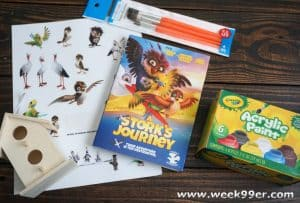 Find Your True Potential with A Stork's Journey and this fun Bird House Kit!