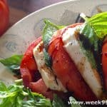 Easy to Make and Delicious Classic Caprese Salad