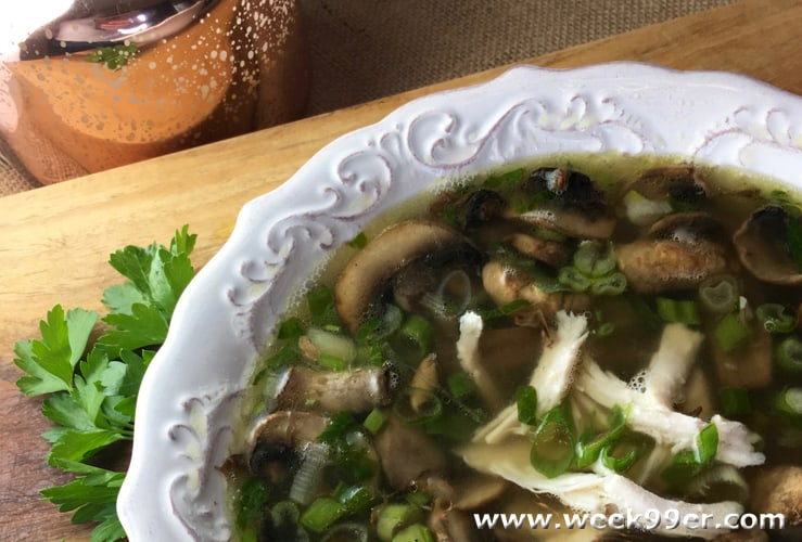Try this New Take on Chicken Marsala Soup
