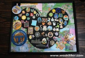 disney pin board