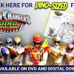 Power Rangers Dino Super Charge Activity Sheet