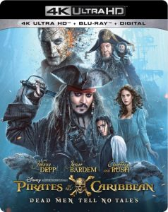 pirates dead men tell no tales dvd release date