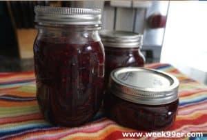 3 Berry Jam – Pectin Free Recipe!