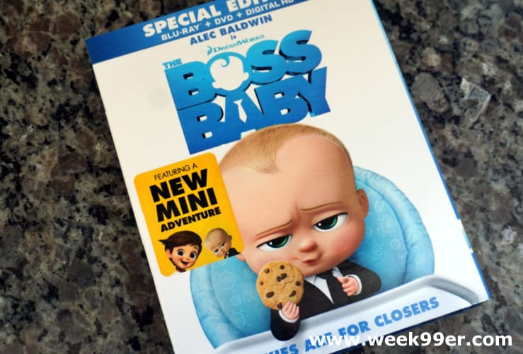 boss baby dvd home release