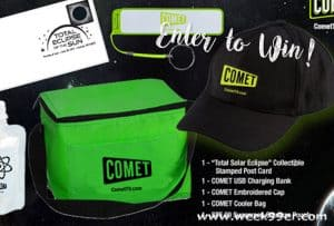 Enter to win a Total Eclipse Prize Package from Comet TV #CometTV