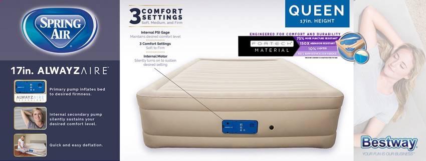 bestway air mattress