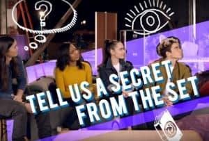 Secrets from the Disney Descendants 2 Set + Bloopers Reel