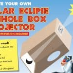 Create Your Own Eclipse Pinhole Viewer with these Easy Instructions! #thelionking