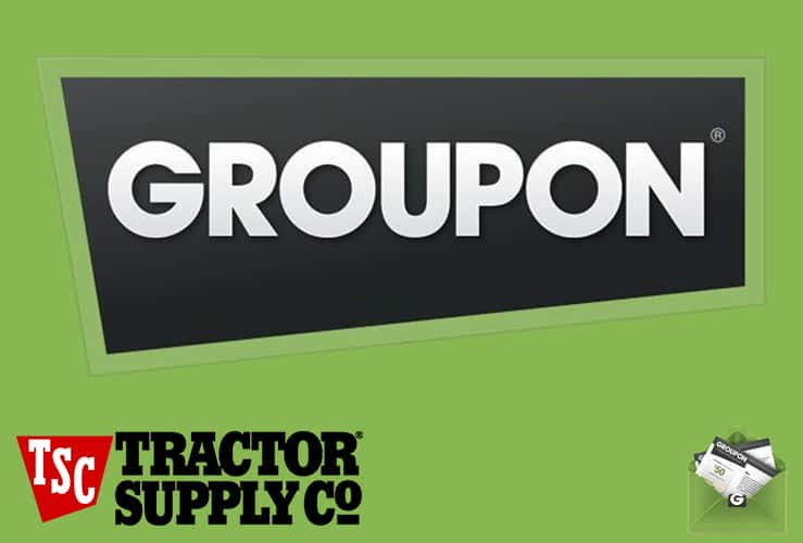groupon coupons tractor supply company
