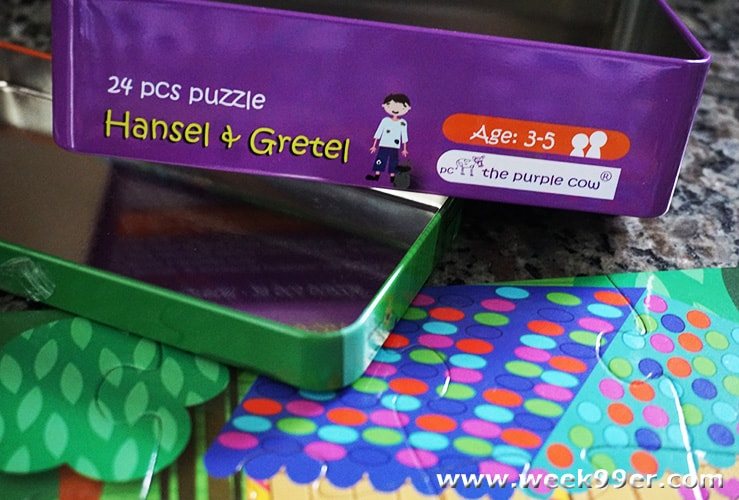 the purple cow hansel and gretel puzzel review