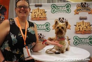 A Quick Interview with Tiny on Being a Star! #Pupstarmovie @airbud
