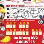 Mickey And The Roadster Racers Printable Activity Sheets