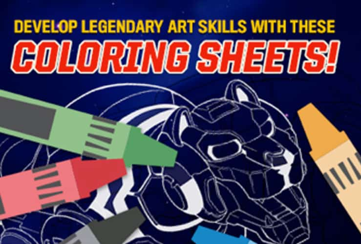 Voltron Legendary Defender In Coloring Pages: Legendary Coloring Sheets From Voltron Legendary Defenders