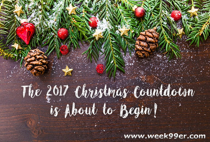 the 2017 christmas countdown is about to begin