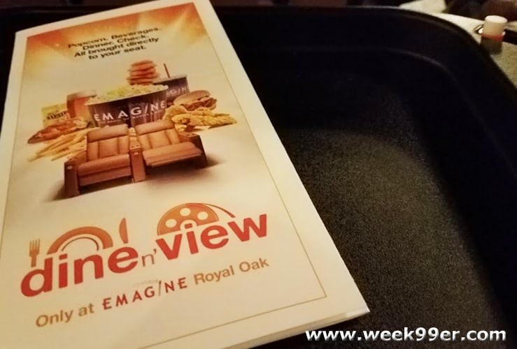 Emagine Theater Dine n' View Review
