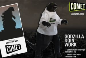 Smash Through Boredom and Enter to Win Your Own Godzilla! #CometTV