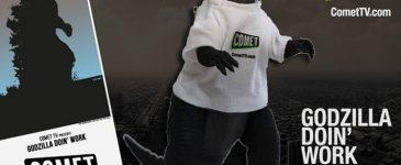 Smash Through Boredom and Enter to Win Your Own Godzilla! #CometTV