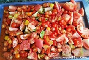 roasted tomato sauce canning recipe