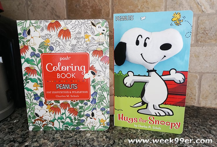 Snoopy Book Giveaway