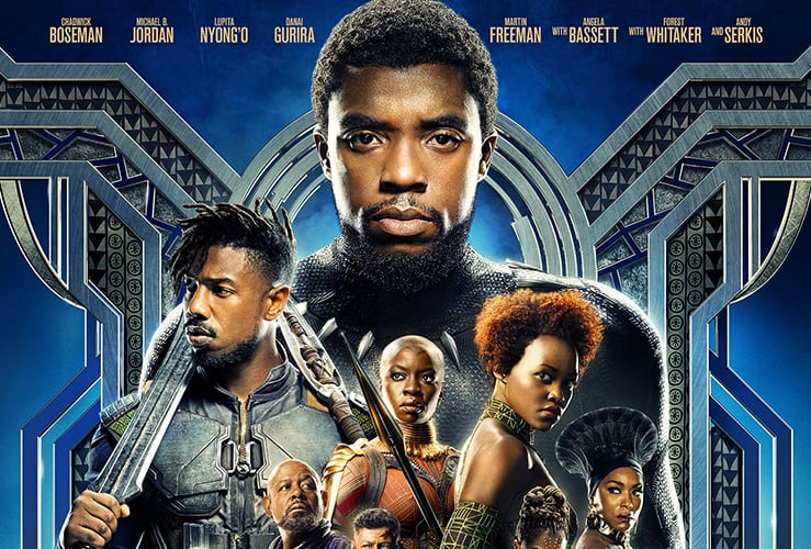 black panther official poster and trailer