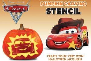 cars 3 halloween stencils
