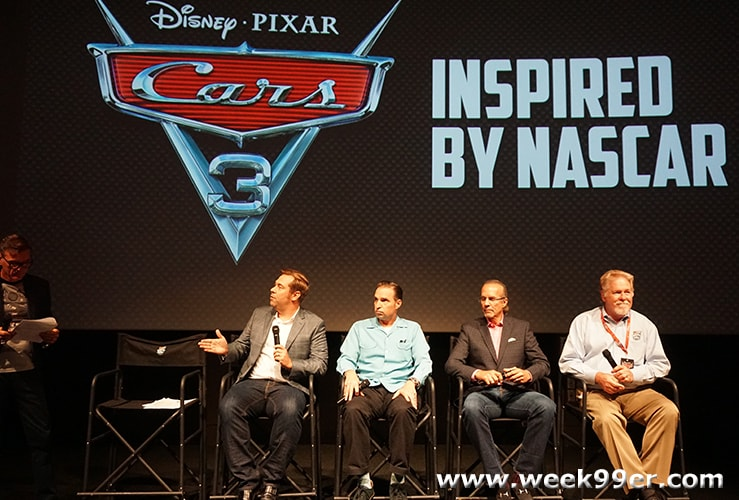 NASCAR Hall of Fame Disney Cars Exhibit Launch Interview