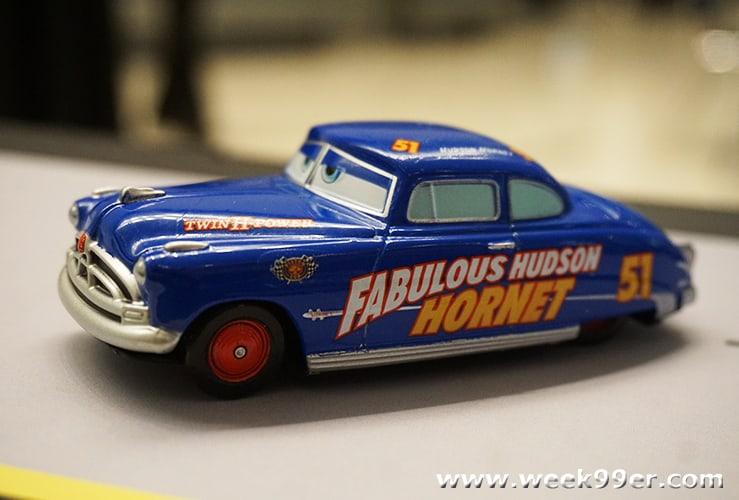 NASCAR Hall of Fame Disney Cars Exhibit