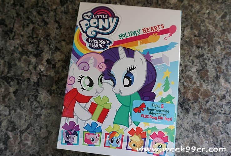 my little pony holiday hearts review