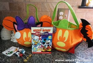 mickey mouse merry & scary dvd review