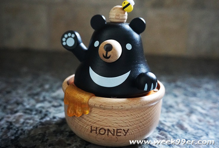 honey bear music box
