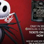 Regal Cinemas is Bringing The Nightmare Before Christmas for Halloween!
