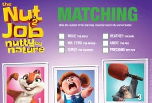 The Nut Job 2: Nutty By Nature New Clip & Activity Sheets!