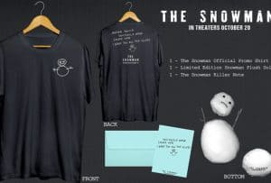 Enter to Win a Prize Package for the Upcoming Thriller The Snowman #thesnowmanmovie