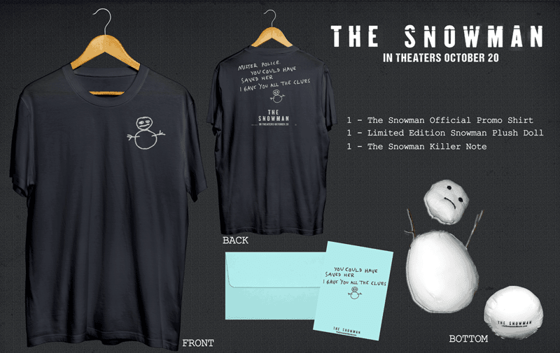the snowman giveaway