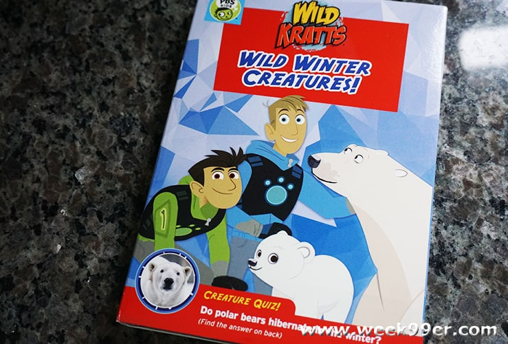 wild krattz wild winter creatures review