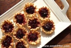 Brie and Dark Cherry Bites Recipe
