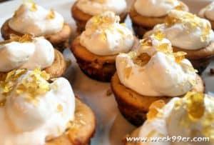 Mini Pumpkin Cheesecakes