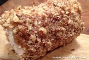 Pecan Crusted Goat Cheese Logs Recipe