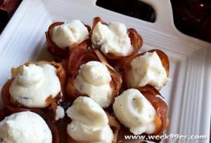 Proscuitto Baskets with Whipped Goat Cheese2