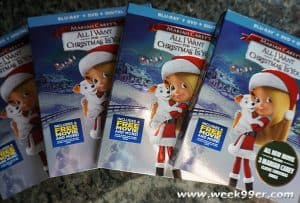 All I want for Christmas is You is now on DVD + Activity Sheets & Giveaway!