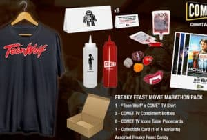 Enter to win a Teen Wolf & Freaky Feast Pack! #CometTV