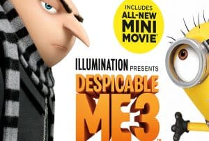 Enter to Win Despicable Me 3 on Blu-Ray! 4 Winners!