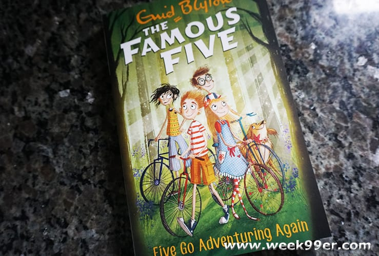 famous five adventure book and app