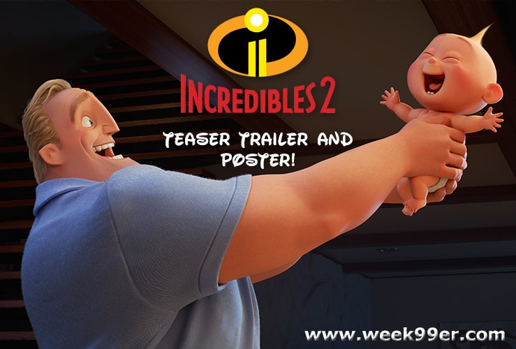 Watch the Incredible New Trailer for Disney Pixar's Incredibles 2! #Incredibles2