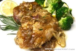Lemon Rosemary Chicken One Pot Meal