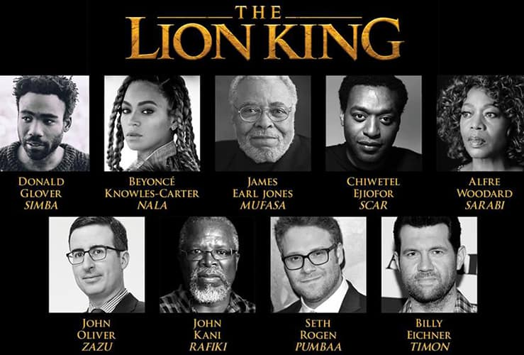 live action lion king cast