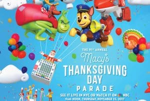 Be Sure to Tune Into the Macy's Thanksgiving Day Parade Next Week! #MacysParade