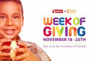 Join Loacker's Week of Giving and Enter to Win Some Tasty Treats! #LoackerLove #WeekOfGiving